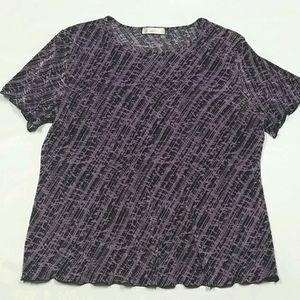 Tradition Women's Short Sleeved Top Sz 1X